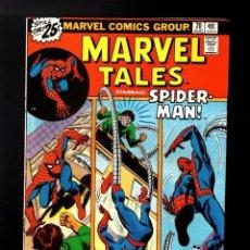 Cómics: MARVEL TALES 70 / AMAZING SPIDER MAN SPIDERMAN 89 1976 DOCTOR OCTOPUS STAN LEE & GIL KANE NO FORUM. Lote 176611262