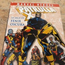 Comics : MARVEL HEROES: PATRULLA X LA SAGA DE FENIX OSCURA, TAPA DURA PERFECTO ESTADO. Lote 176694780