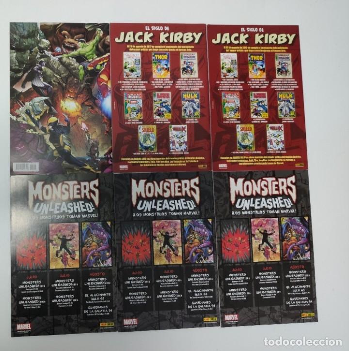 Cómics: monsters unleashed 1- 6 panini comic - Foto 2 - 177091179