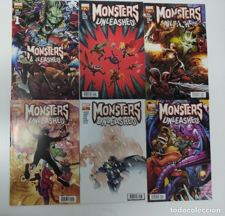 MONSTERS UNLEASHED 1- 6 PANINI COMIC (Tebeos y Comics - Panini - Marvel Comic)
