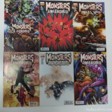 Cómics: MONSTERS UNLEASHED 1- 6 PANINI COMIC. Lote 177091179