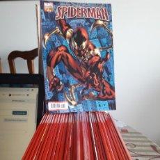 Cómics: ASOMBROSO SPIDERMAN 18 COMICS MUY BUEN ESTADO SERIE ACTUAL LOMO ROJO LEER DESCRIPCION. Lote 177109094