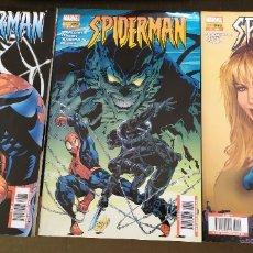 Cómics: SPIDERMAN.LOTE DE 3 COMICS Nº 38, 44 Y 45. MARVEL / PANINI COMICS. Lote 177424064