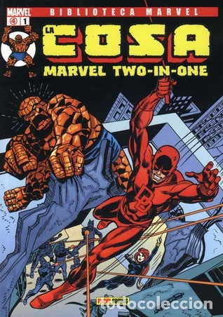 LA COSA - MARVEL TWO IN ONE - BIBLIOTECA MARVEL COMPLETA 16 NÚMEROS (Tebeos y Comics - Panini - Marvel Comic)