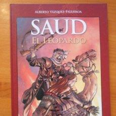 Comics : SAUD EL LEOPARDO - ALBERTO VAZQUEZ-FIGUEROA - TAPA DURA - PANINI COMICS (Z1). Lote 177511274