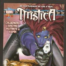 Cómics: MÍSTICA VOL.1 - Nº 4 - CALDERO, SASTRE, MUTANTE Y ESPÍA - MAYO 2005 - PANINI -. Lote 177613757