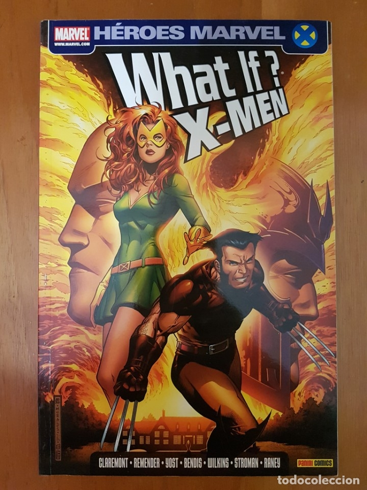 WHAT IF X-MEN - HEROES MARVEL - TOMO PANINI (Tebeos y Comics - Panini - Marvel Comic)