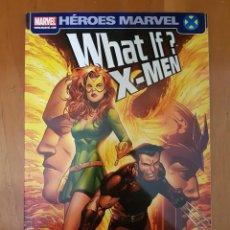 Cómics: WHAT IF X-MEN - HEROES MARVEL - TOMO PANINI. Lote 177721968