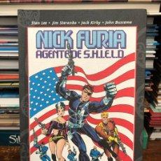 Cómics: NICK FURIA AGENTE DE SHIELD - PANINI MARVEL . Lote 177744610