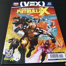 Cómics: DE KIOSCO LOBEZNO Y LA PATRULLA X 9 PANINI COMICS. Lote 178005407