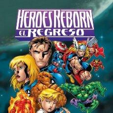 Cómics: HEROES REBORN : EL REGRESO - PANINI / MARVEL / TAPA DURA. Lote 178029823