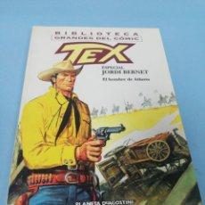 Cómics: TEX. ESPECIAL JORDI BERNET. EL HOMBRE DE ATLANTA. . Lote 178083888