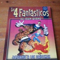 Cómics: LOS 4 FANTÁSTICOS DE JOHN BYRNE. NÚMERO 1.. Lote 178183002