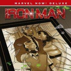 Cómics: MARVEL NOW! DELUXE Nº 13 IRON MAN Nº 2 EL ORIGEN SECRETO DE TONY STARK - PANINI - IMPECABLE - OFI15T. Lote 178289696