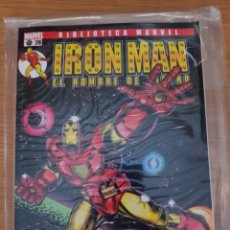 Cómics: BIBLIOTECA MARVEL IRON MAN. Lote 178357705