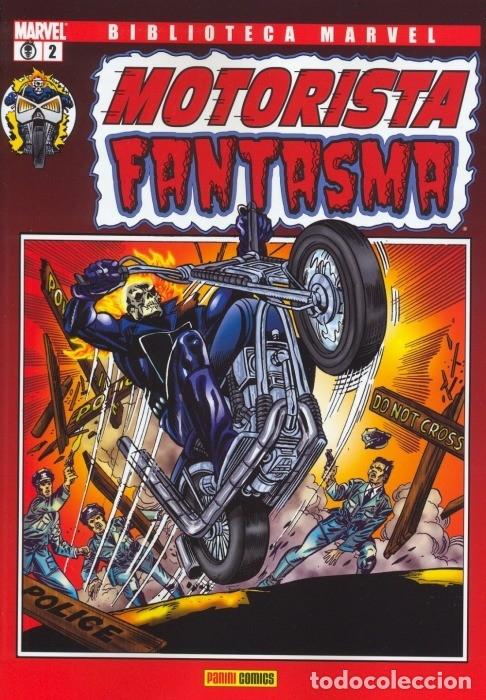 BIBLIOTECA MARVEL MOTORISTA FANTASMA 2 (Tebeos y Comics - Panini - Marvel Comic)