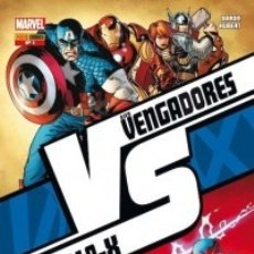 Cómics: VVX: VS. LOS VENGADORES VS. LA PATRULLA-X COMPLETA 1 AL 6 - PANINI - ESTADO EXCELENTE. Lote 178635718