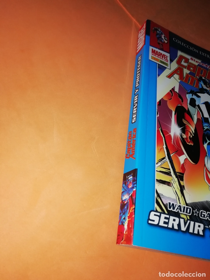 Cómics: CAPITAN AMERICA. SERVIR Y PROTEGER. COLECCION EXTRA SUPER HEROES. PANINI. - Foto 2 - 224846342