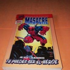 Cómics: MASACRE. TU PUEDES SER EL HEROE. COLECCION EXTRA SUPERHEROES. PANINI.. Lote 178787450