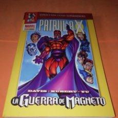 Cómics: PATRULLA X. LA GUERRA DE MAGNETO. COLECCION EXTRA SUPERHEROES. PANINI.. Lote 178787802