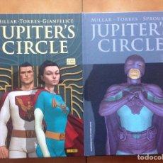 Cómics: JUPITER 'S CIRCLE TOMO 1 Y 2 POR MARK MILLAR WILFREDO TORRES Y DAVIDE GIANFELICE - PANINI. Lote 178908356