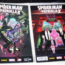Cómics: SPIDERMAN Y LA PATRULLA-X Nº 38 Y 39 (NUEVOS Y REBAJADOS A PRECIO REDONDO). Lote 178975795