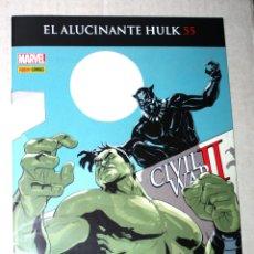 Cómics: ALUCINANTE HULK 55 (LIQUIDACIÓN: 30% DESCUENTO). Lote 179037096