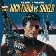 Cómics: NICK FURIA VS. SHIELD. MARVEL GOLD PANINI. Lote 179070072