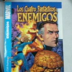 Cómics: LOS CUATRO FANTÁSTICOS: ENEMIGOS - TOMO PANINI.. Lote 179074503