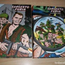 Cómics: MARVEL LIMITED EDITION. SARGENTO FURIA. 2 TOMOS CON 1032 PÁGINAS. SERIE COMPLETA. COMO NUEVO.. Lote 179076831