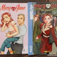 Cómics: MARVEL STYLE. MARY JANE. COL.COMPLETA DE 2 NUMEROS. PANINI COMICS 2006. Lote 179090587