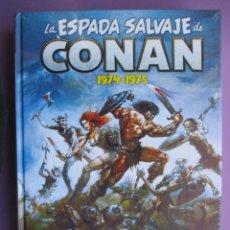 Cómics: LA ESPADA SALVAJE DE CONAN PANINI VOLUMEN 1, 1974-1975, MARVEL LIMITED EDITION, PRECINTADO. Lote 179135285