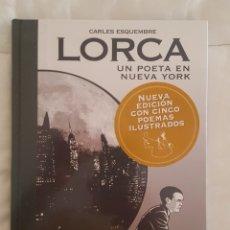 Cómics: COMIC / LORCA UN POETA EN NUEVA YORK / CARLES ESQUEMBRE, EVOLUTION COMICS, PRECINTADO DE ORIGEN. Lote 179177655