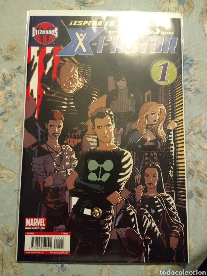 Cómics: X - Factor, Año 1, vol 1 de Panini. Completa - Foto 2 - 179321642