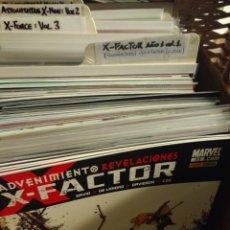 Cómics: X - FACTOR, AÑO 1, VOL 1 DE PANINI. COMPLETA. Lote 179321642