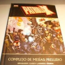 Cómics: MARVEL DELUXE. PATRULLA X. COMPLEJO DE MESÍAS: PRELUDIO. TAPA DURA 27 X 18 CM (SEMINUEVO). Lote 179341982