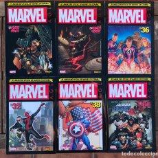 Cómics: MARVEL AGE, EL MAGAZINE OFICIAL. LOTE DE 6 NÚMEROS. 27, 32, 36, 37, 38 Y 44. PANINI. VER FOTOS. Lote 179528380
