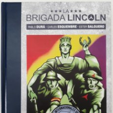 Cómics: LA BRIGADA LINCOLN, (EVOLUTION CÓMICS, PANINI, 2018). Lote 179880713