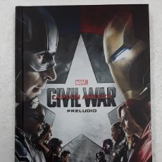 Cómics: MARVEL CINEMATIC COLLECTION 6. CAPITÁN AMÉRICA. CIVIL WAR. PRELUDIO - PANINI / MARVEL. Lote 180100932