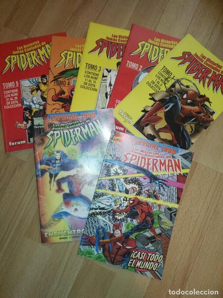 HISTORIAS JAMAS CONTADAS DE SPIDERMAN (Tebeos y Comics - Panini - Otros)