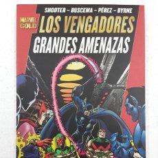 Cómics: LOS VENGADORES. GRANDES AMENAZAS (MARVEL GOLD) - PANINI / MARVEL. Lote 180323746