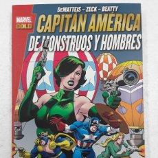 Cómics: CAPITÁN AMÉRICA. DE MONSTRUOS Y HOMBRES ( MARVEL GOLD) - PANINI / MARVEL. Lote 180324540