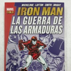 Cómics: IRON MAN. LA GUERRA DE LAS ARMADURAS (MARVEL GOLD) - PANINI / MARVEL. Lote 180324826
