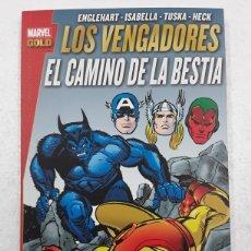Cómics: LOS VENGADORES. EL CAMINO DE LA BESTIA (MARVEL GOLD) - PANINI / MARVEL. Lote 180325010