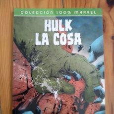 Cómics: HULK - LA COSA: A GOLPES - JONES / LEE. Lote 180327141