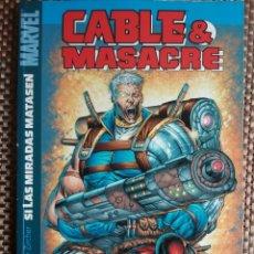 Comics: CABLE & MASACRE - SI LAS MIRADAS MATASEN TOMO 1 (1-6 DEADPOOL&CABLE). Lote 180925835