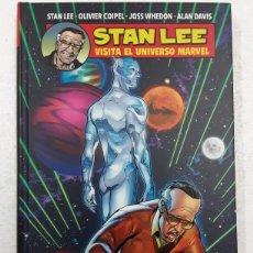 Cómics: STAN LEE. VISITA EL UNIVERSO MARVEL - STAN LEE, OLIVIER COIPEL, JOSS WHEDON, ALAN DAVIS - PANINI. Lote 180927717