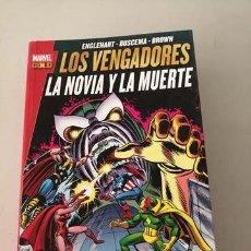 Cómics: LOS VENGADORES. LA NOVIA Y LA MUERTE . Lote 180960515