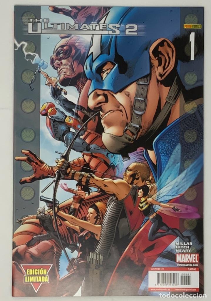 THE ULTIMATES 2 AÑO 1- NÚMERO 1. OCTUBRE 2006 MILLAR HITCH NEARY EDICION LIMITADA PANINI CÓMICS. (Tebeos y Comics - Panini - Marvel Comic)