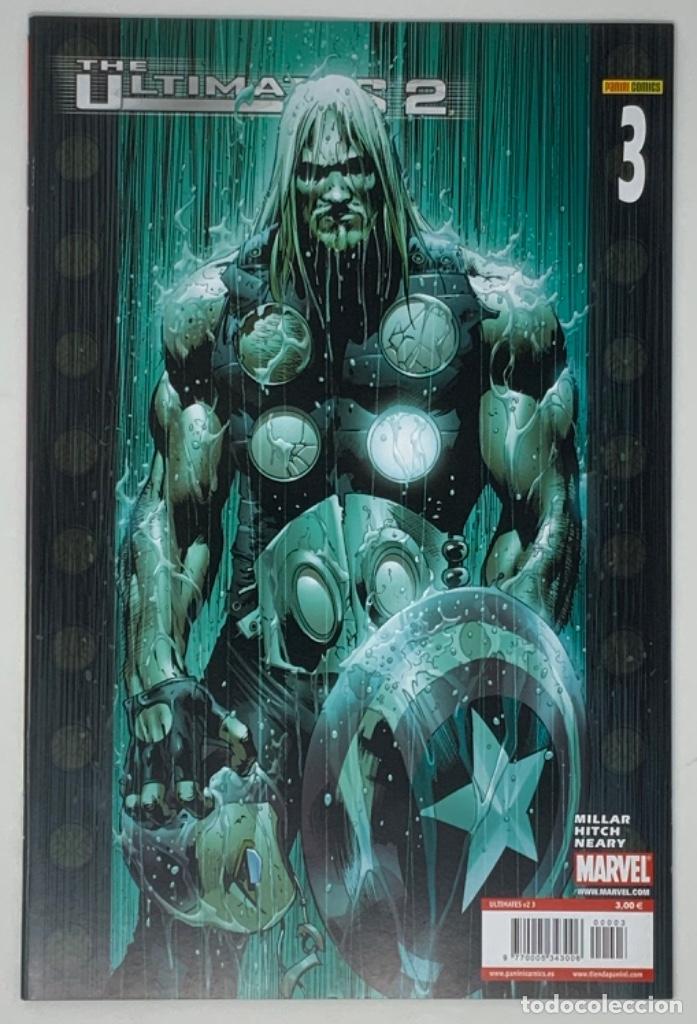 THE ULTIMATES 2 AÑO 1- NÚMERO 3. MILLAR HITCH NEARY EDICION LIMITADA PANINI CÓMICS. (Tebeos y Comics - Panini - Marvel Comic)